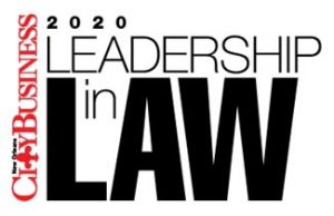 New Orleans City Business Leadership in Law Award